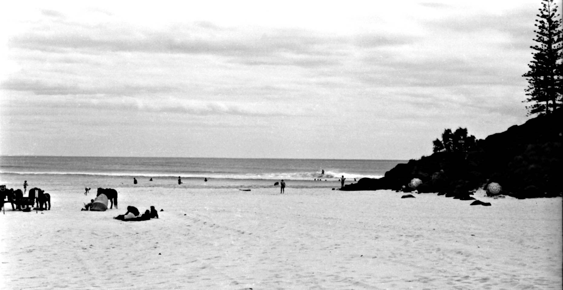 Greenmount into Coolangatta 1961