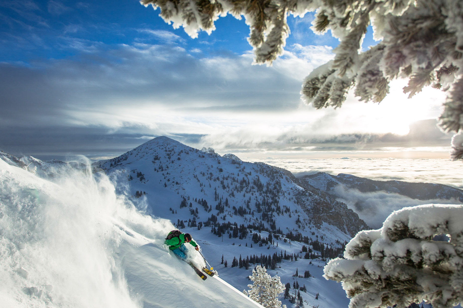 Drew Petersen at Snowbird